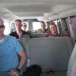 van ride to villago