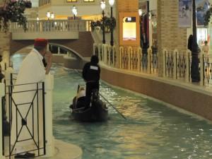 Villagio Mall Gondolier